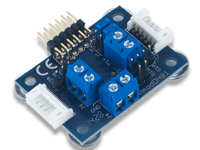 Using the Pmod DHB1 with Arduino Uno