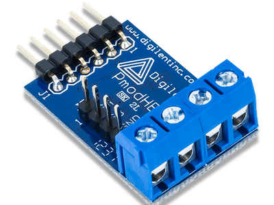Using the Pmod HB3 with Arduino Uno