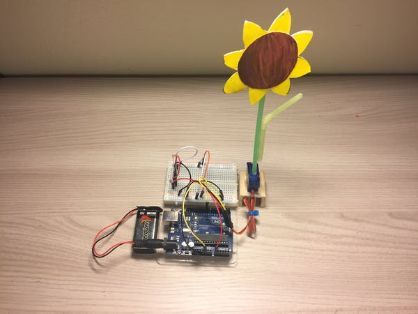 Arduino sunflower project hub