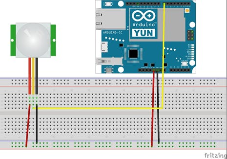 PIR with Arduino