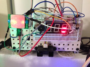 Front View of Light Control Module