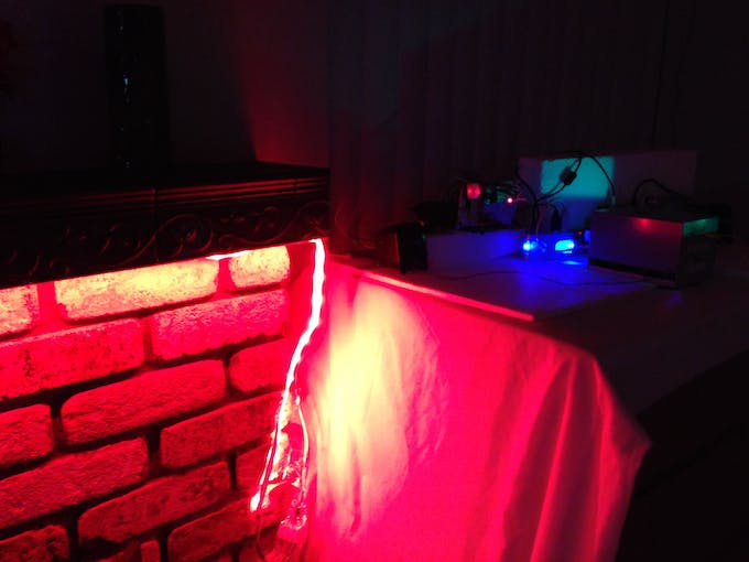 Red Ambient Lighting
