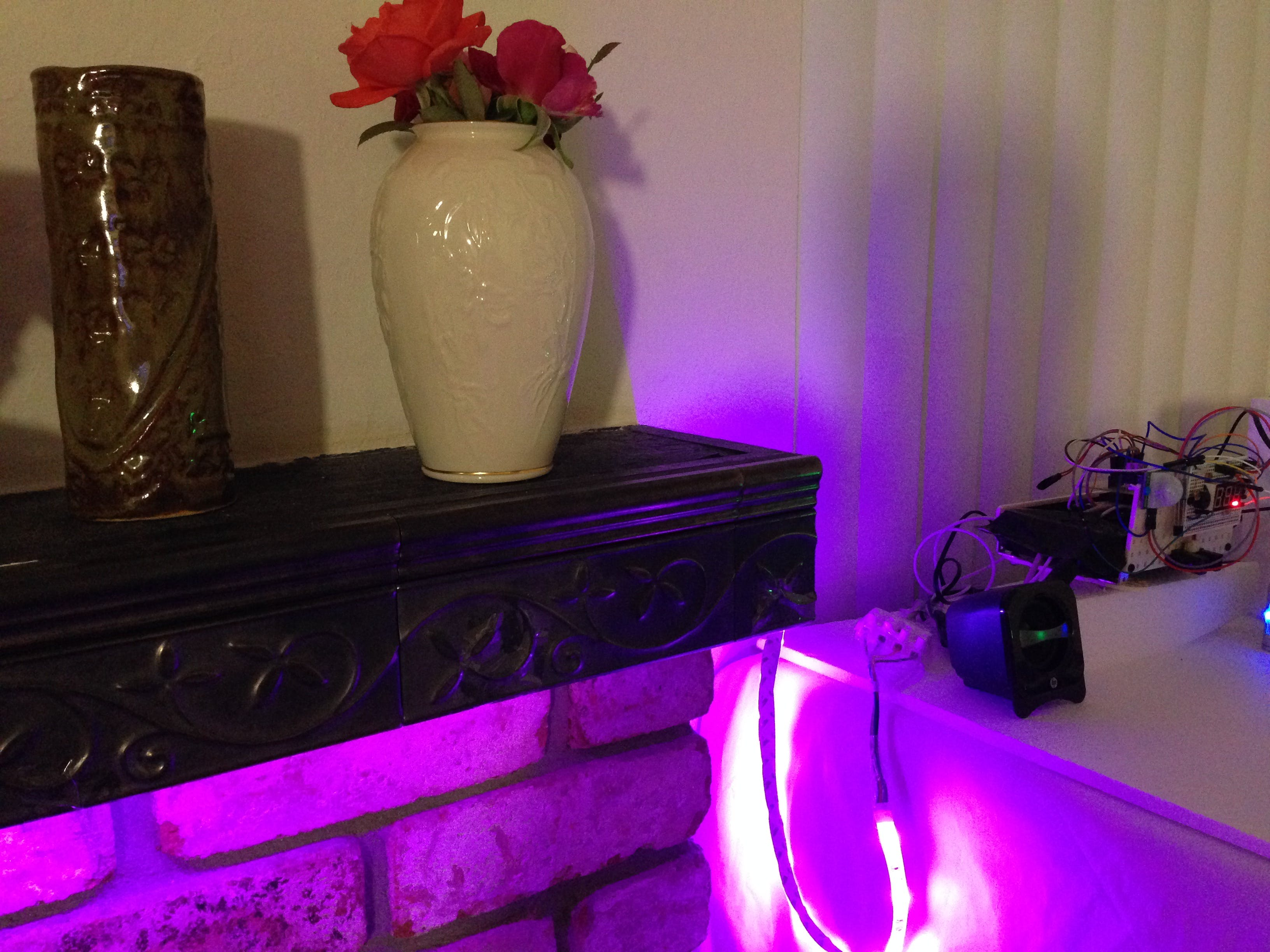 Purple Ambient Lighting