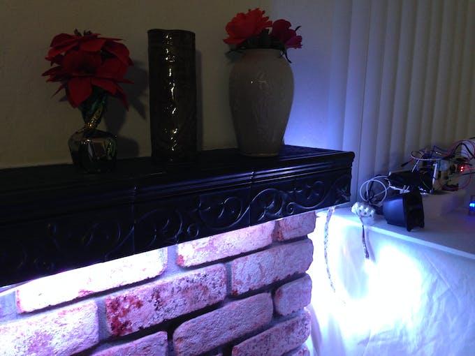 White Ambient Lighting
