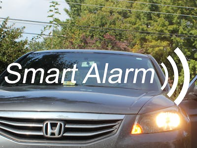 Smart Alarm: An Infinite Range Car Alarm