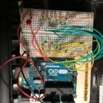 A wiring mess taking shape