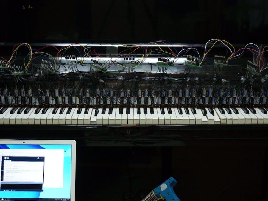 Arduino Controlled Piano Robot: PiBot