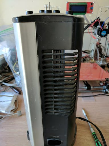 Small fan that I have been using for the last few years