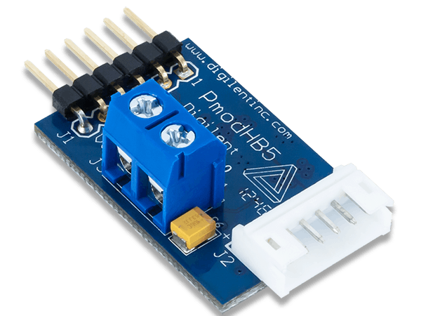 Using the pmod hb with arduino uno hackster