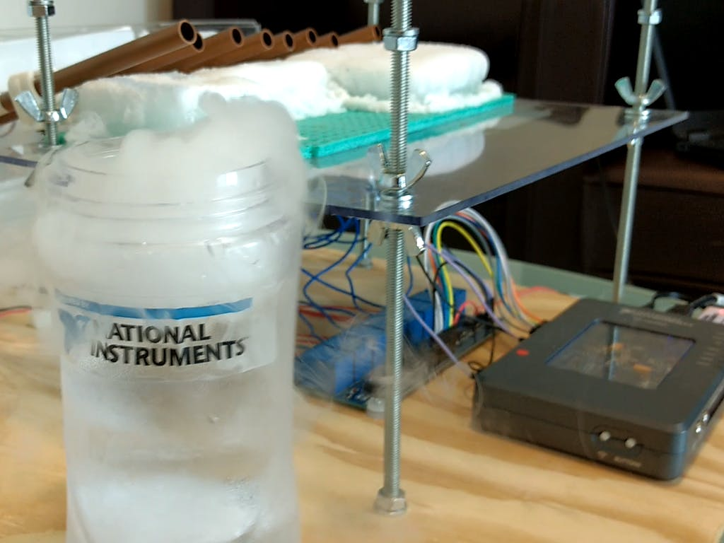 Robotic Instrument Makes Dry Ice Sing!