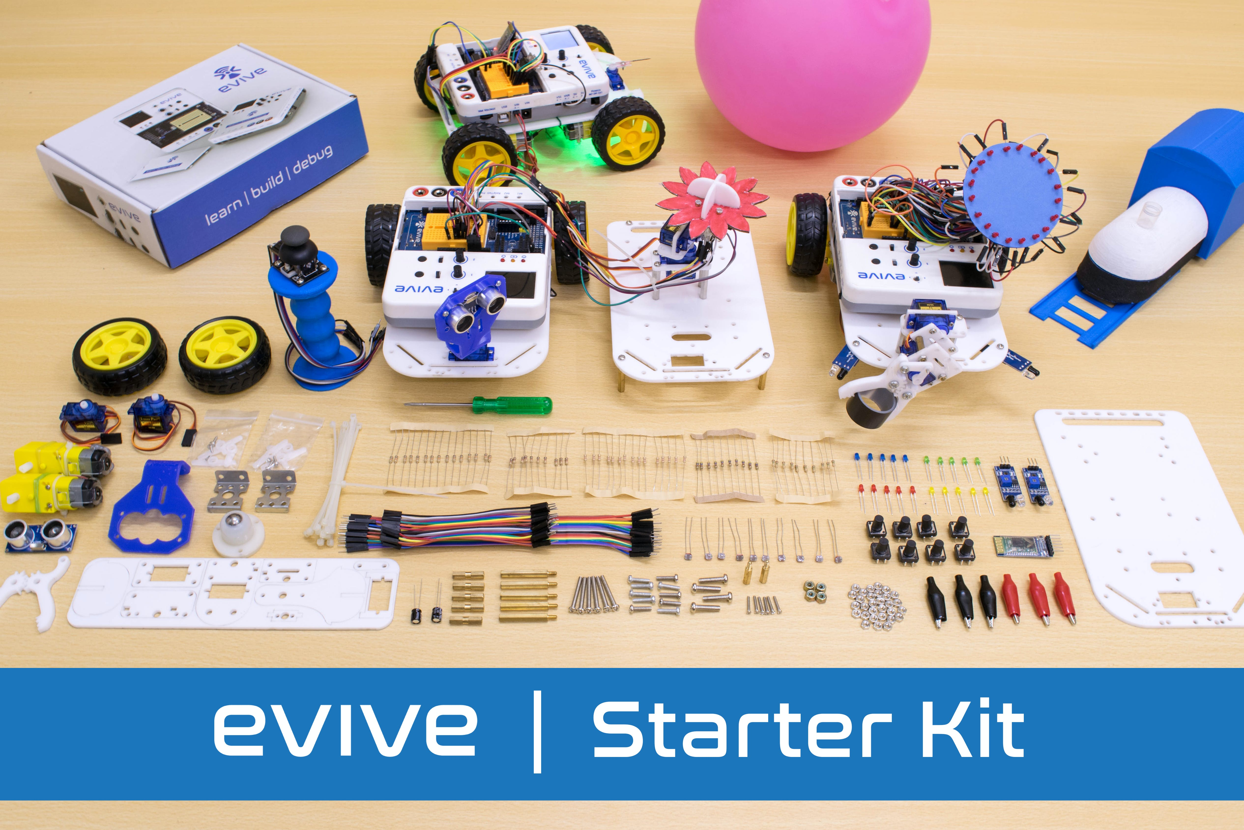 Starterkit 3x2 evive v2t1gexefq