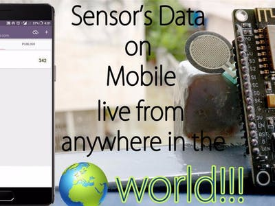 Live Monitoring Your Sensor's Value From Anywhere