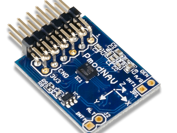 Using the Pmod NAV with Arduino Uno