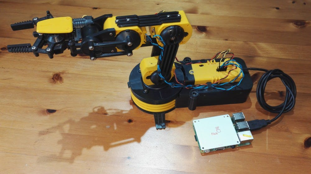 setting up a robotic arm Rios (robotic arm interactive operating system) is a windows 95/98se/2000/xp/vista program for controlling the al5 series of robotic arms with the ssc-32 with rios, your robot can be taught sequences of motion via the mouse or joystick.