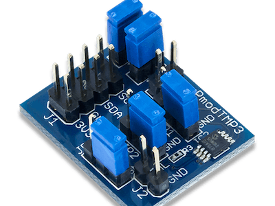 Using the Pmod TMP3 with Arduino Uno