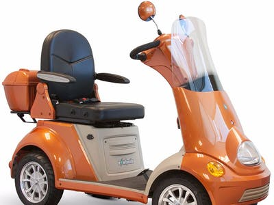Mobility Scooter with Infineon Radar Safety System