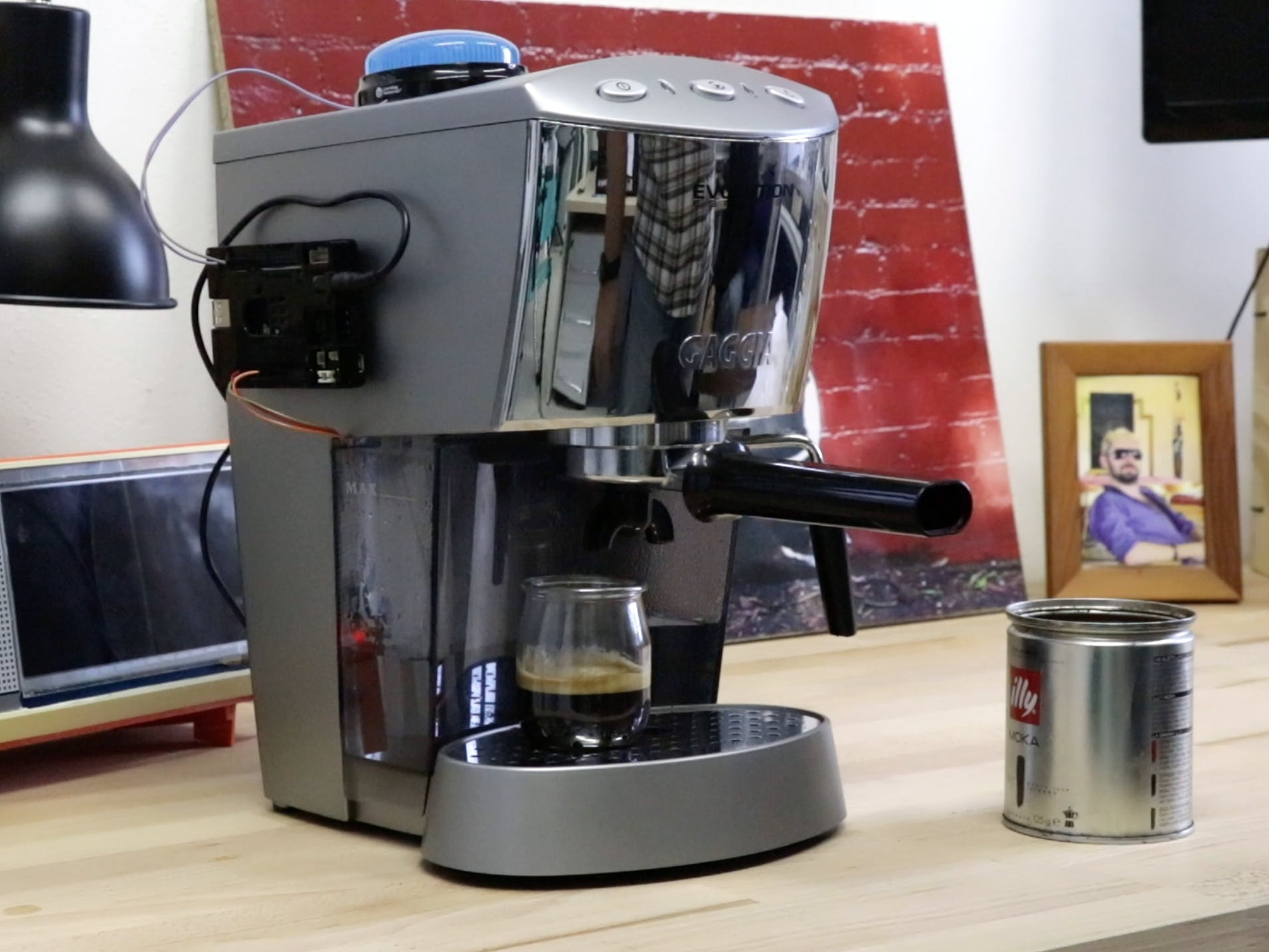 Coffee Machine Water Level Detection with UDOO IoT CLOUD