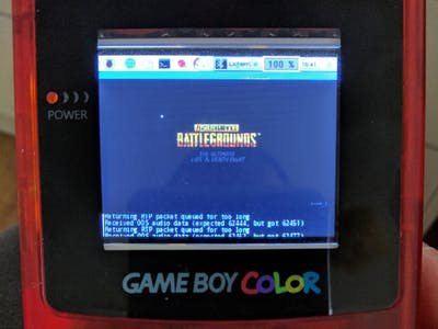 Battlegrounds on Game Boy Color