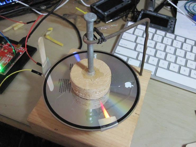 Very Primitive Rotor w/magnet and reed switch