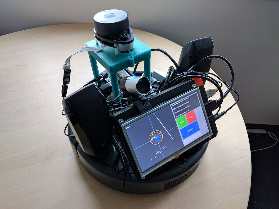 IoT Core Building Navigation Robot