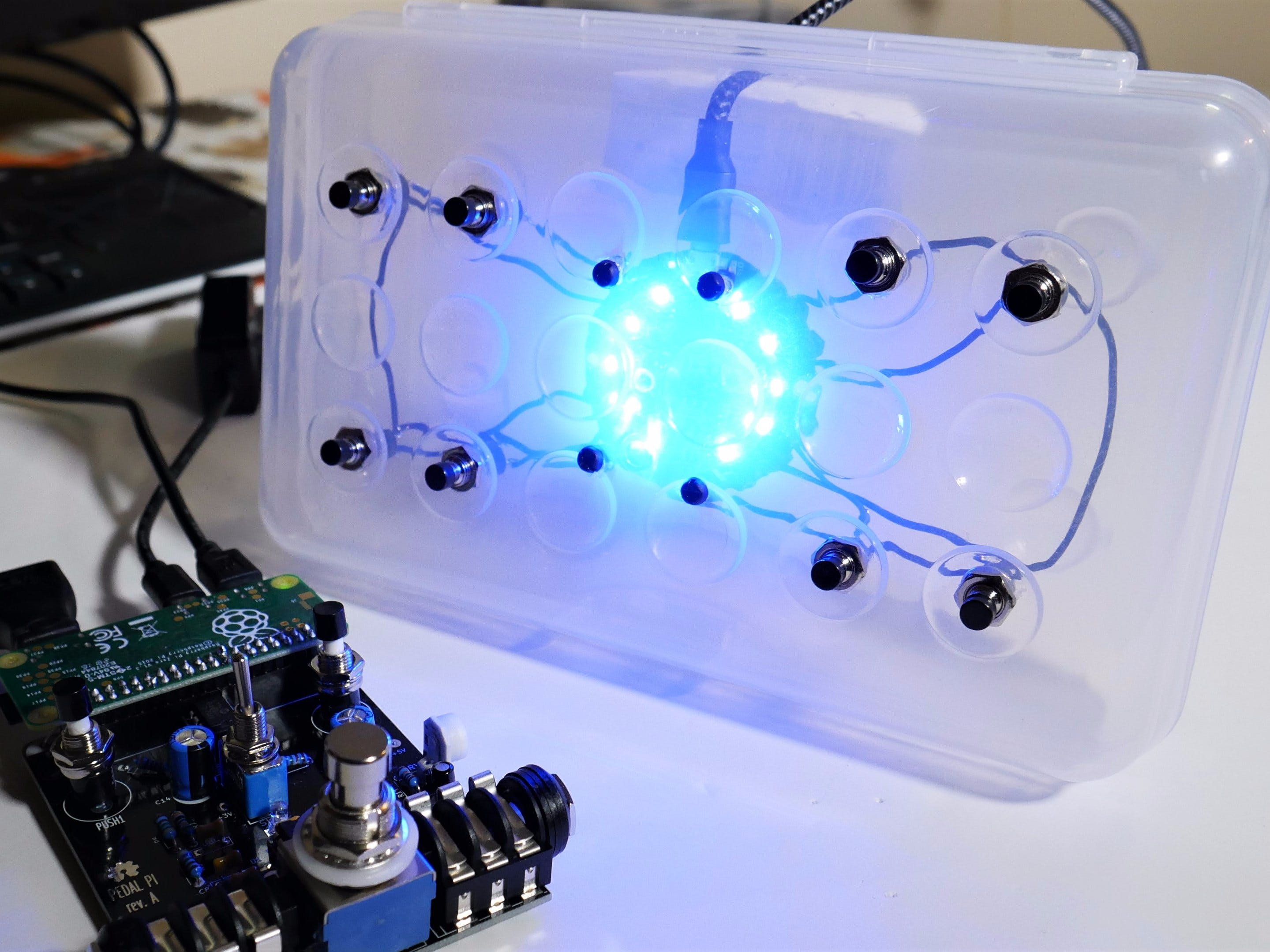Pedal Pi Controller with Circuit Playground