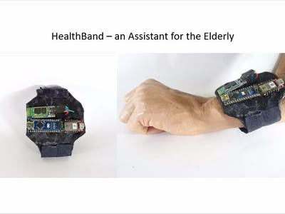 Health Band - A Smart Assistant for the Elderly