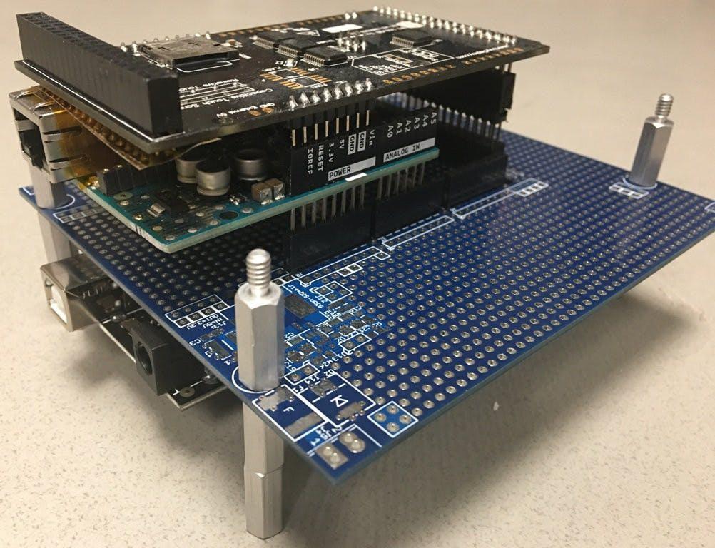 DIN-Uino Proto1 (For Arduino Mega2560/etc.)