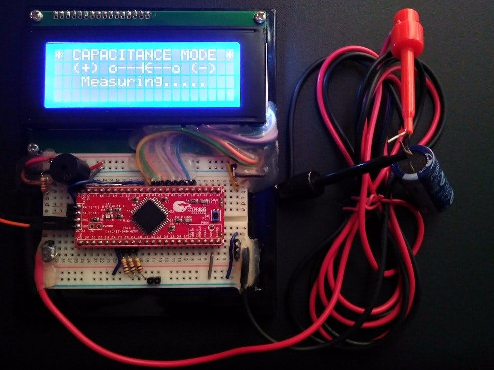 PSoC 4: The Auto Ranging DRCC Meter