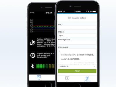 Stream Your iPhone's Sensor Data to SAP Cloud Platform