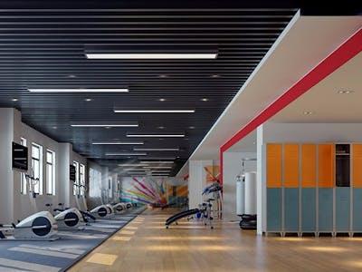smart gym center system