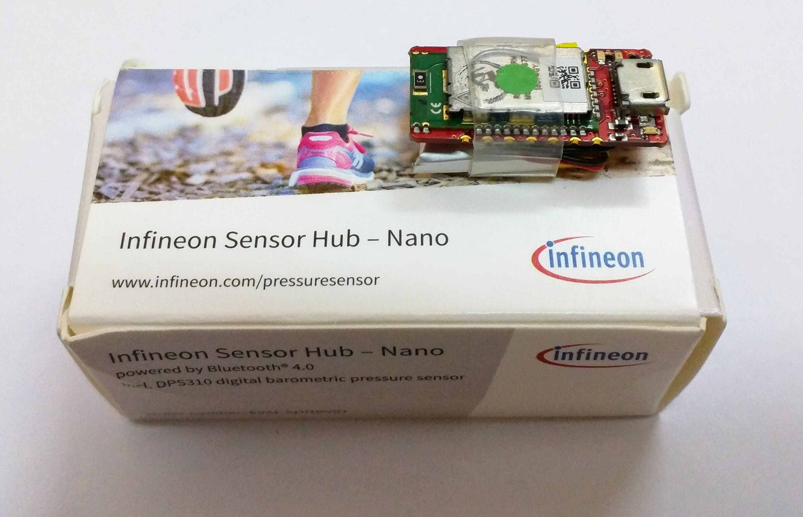 The Sensor Hub Nano! Note the very small size!