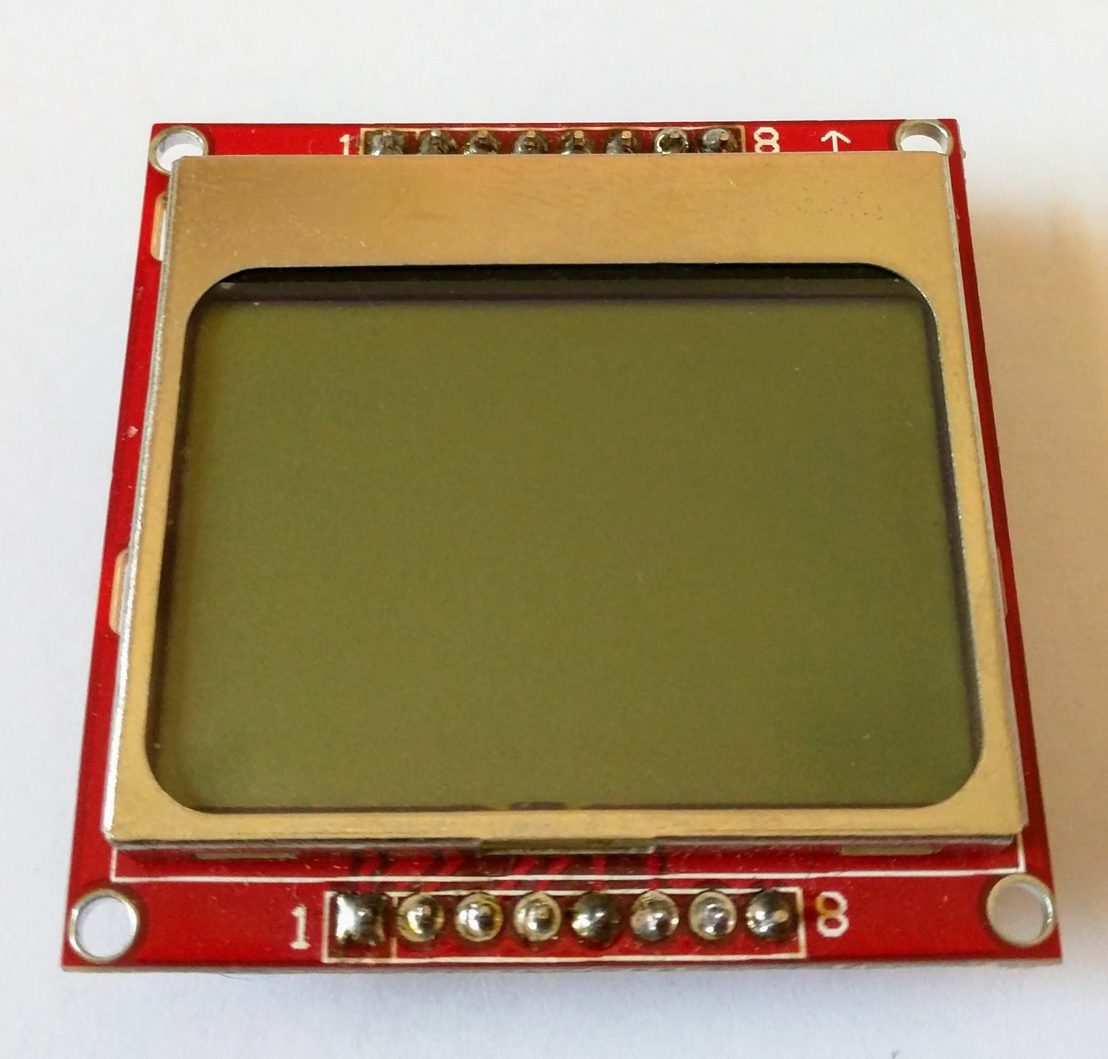 Nokia 5110 display front