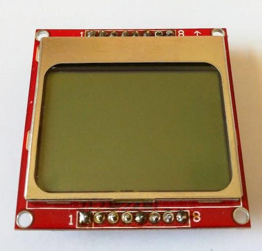Nokia 5110 display front