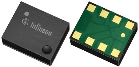 Infineon's DPS310 barometric pressure sensor