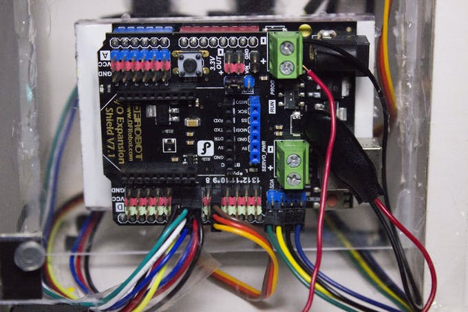 A Closer look of how the arduino looks like