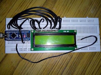 Arduino Digital Voltmeter 5V