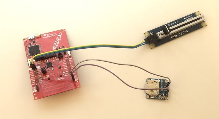Bonus step: completely wireless sensor powered by a coin call battery