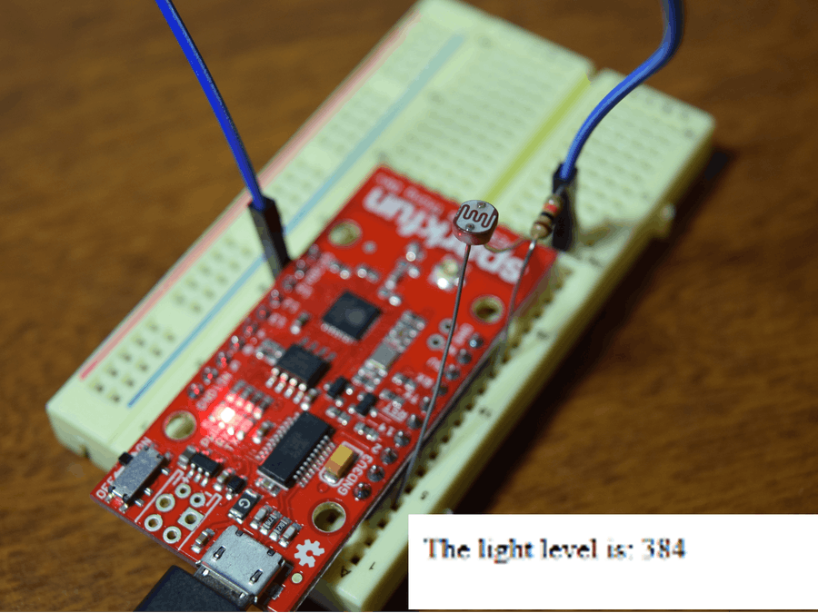 ESP8266 Light Level Monitor
