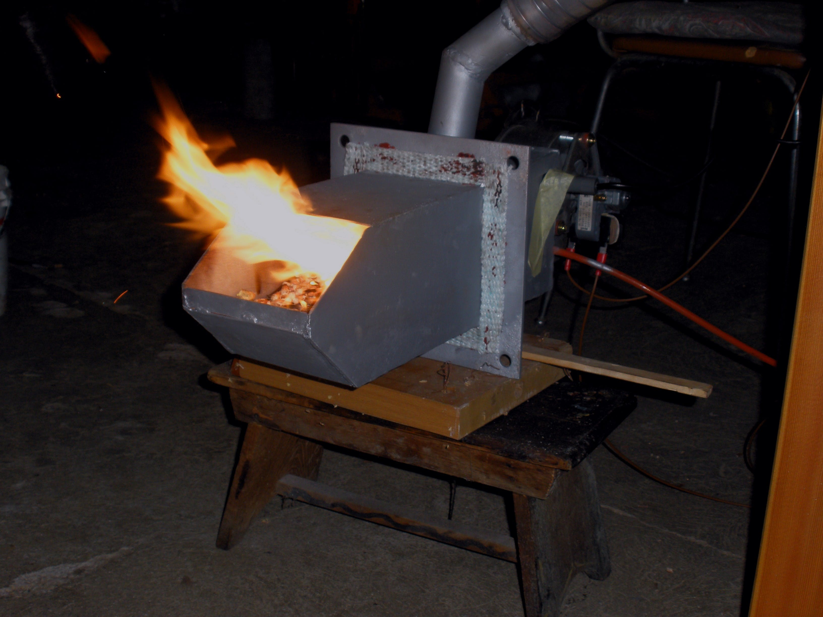 Arduino-Powered Pellet Boiler