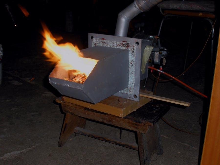 Arduino-Powered Pellet Boiler