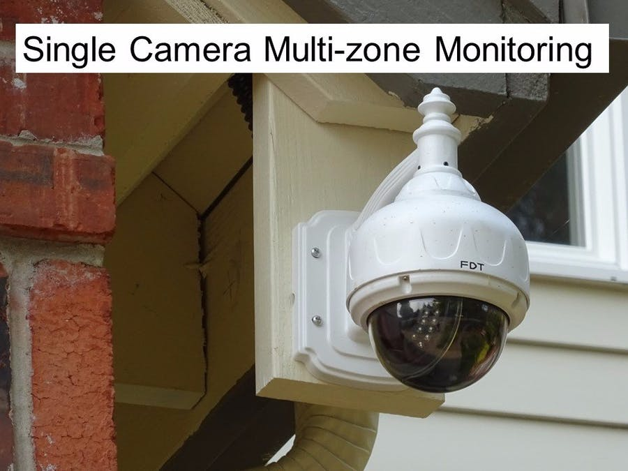 Smart Home Security Camera System