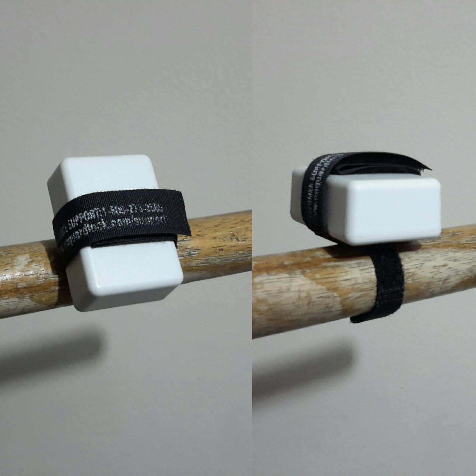 Simulated Barbell Collar gym tracker.