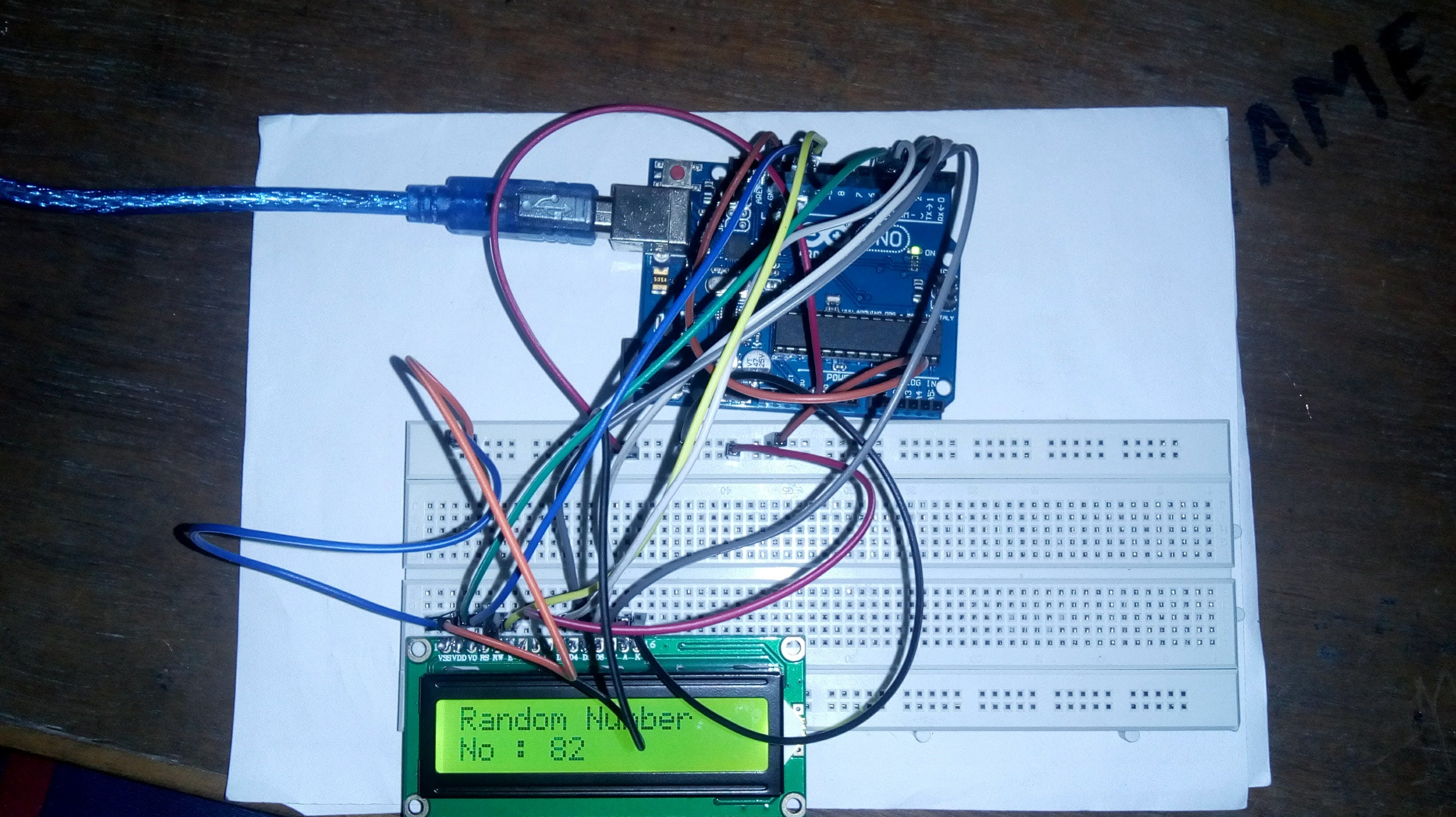 Number Guessing System With Arduino