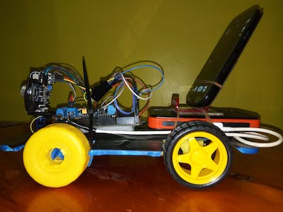 Automatic and Manual Robot Navigation Using Smartphone