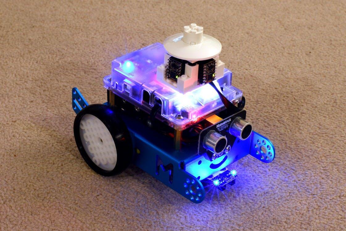 Beep, I'm an mBot with LIDAR!