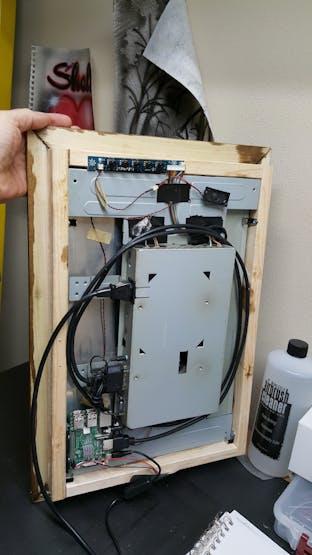 Assembled LCD Frame