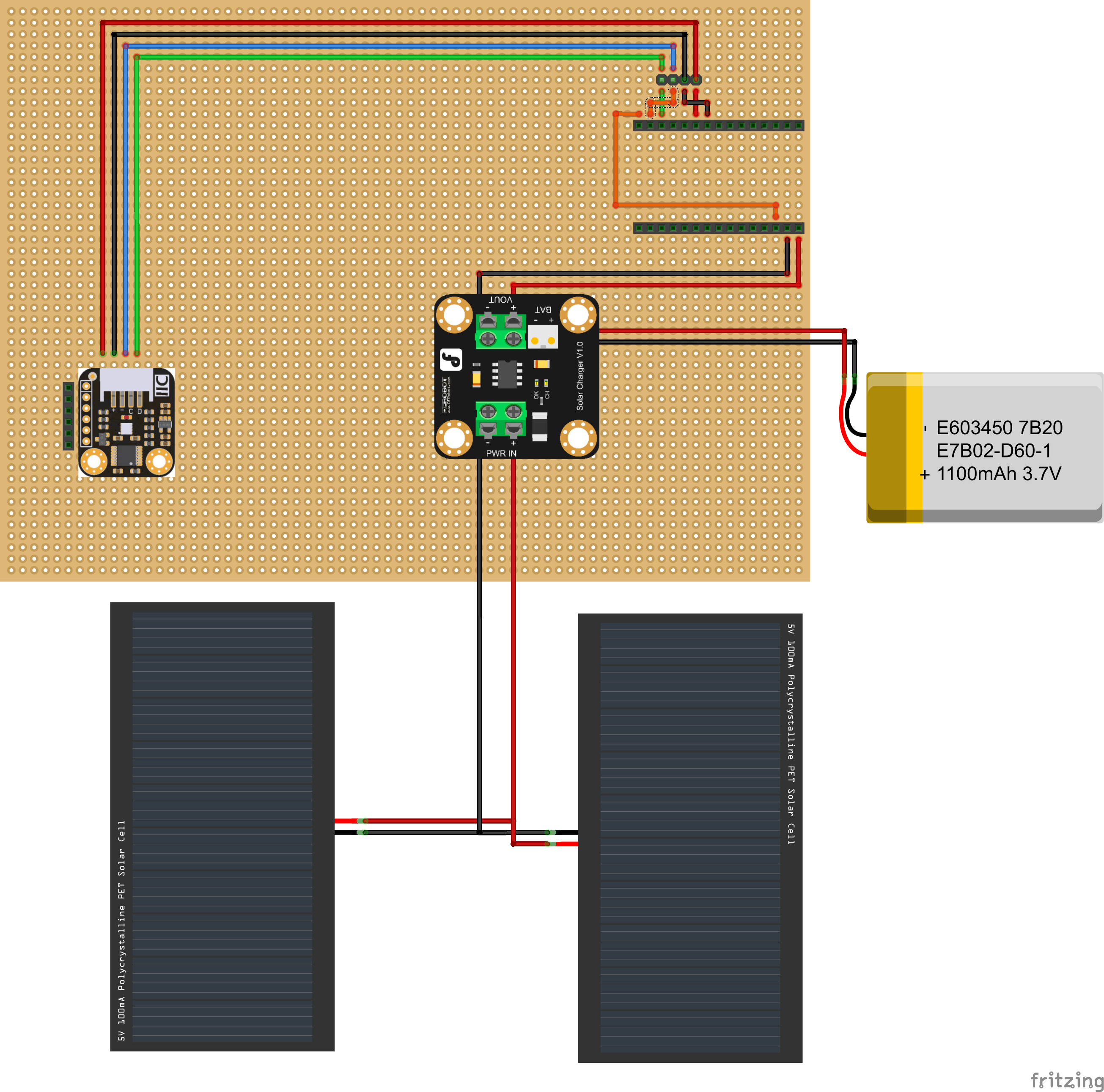 Perfboard Layout