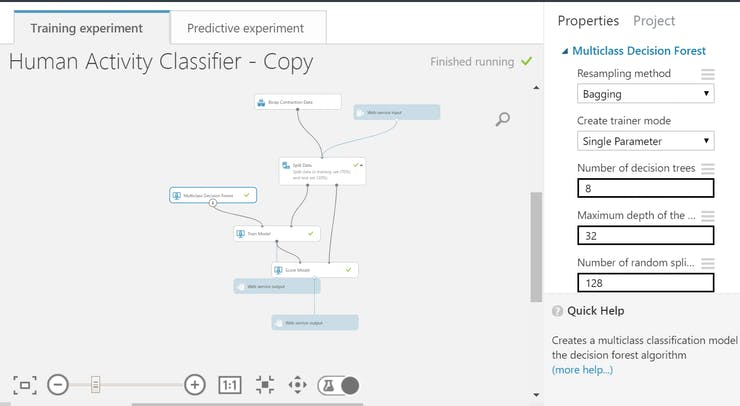 Machine Learning Smart Shirt- ST SensorTile + LightBlue Bean
