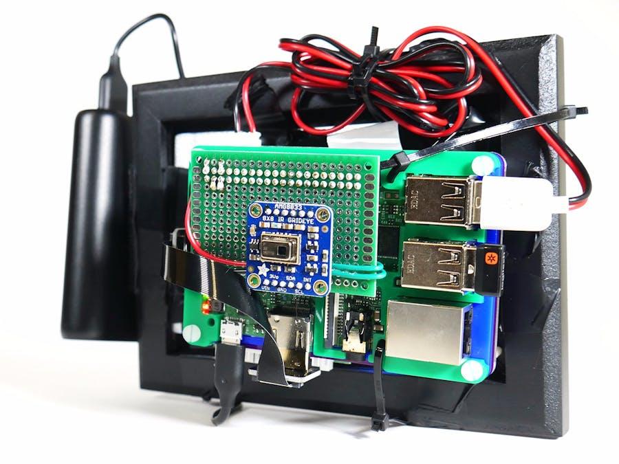 Raspberry Pi Thermal Camera - Hackster io
