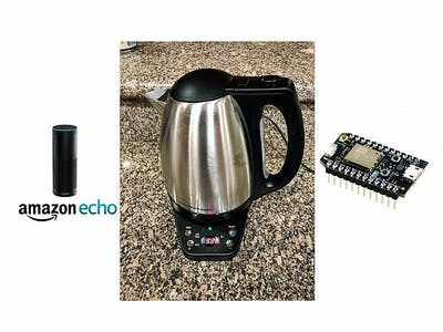 Smart Kettle with Alexa [Updated To v3 API]